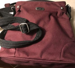 Gently used REI anti-theft travel bag. Maroon for Sale in Silver Spring, MD