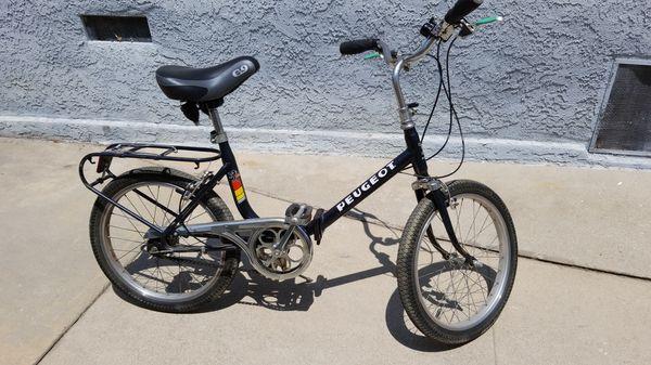 peugeot folding bike. for sale in los angeles, ca - offerup