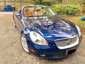 Lexus SC430 convertible (hard top) for Sale in North Bethesda, MD