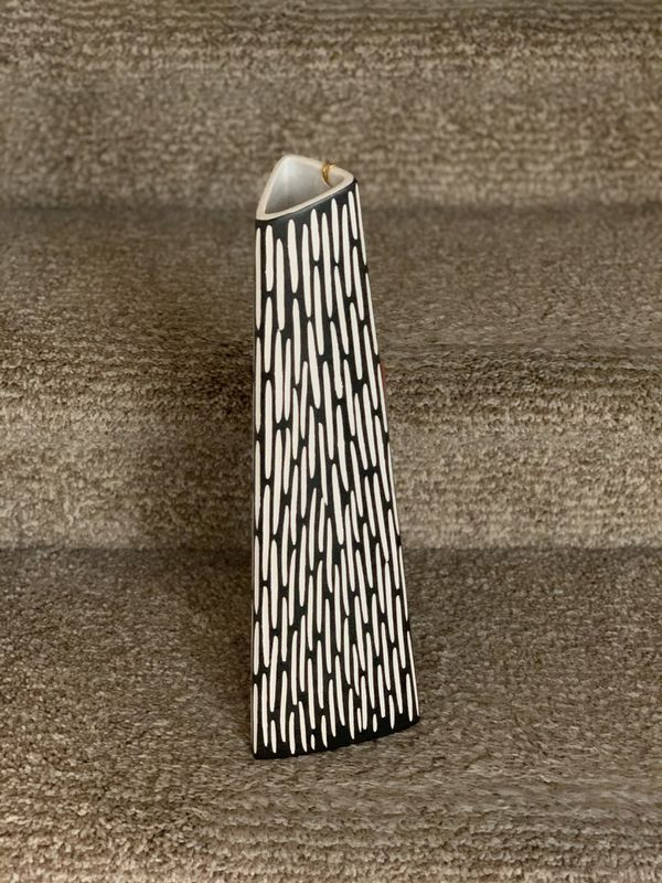 Brand New Triangular Vase From Scandinavian Design For Sale In San