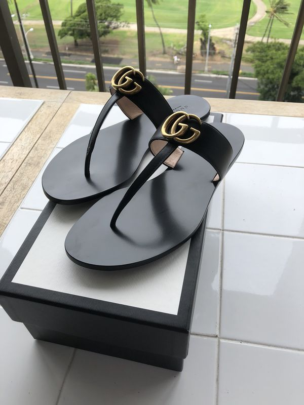 4e1094529228 Gucci Leather Thong Sandals for Sale in Honolulu