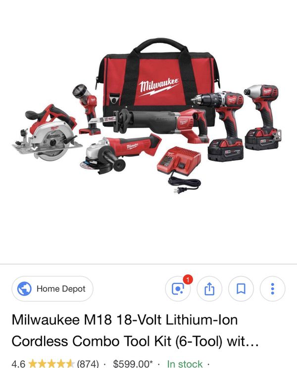 Milwaukee tools only used 1  shoot me some offers for Sale in Riverside, CA  - OfferUp
