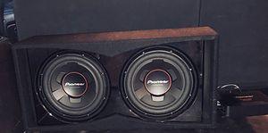 Sub and amp for Sale in Alexandria, VA