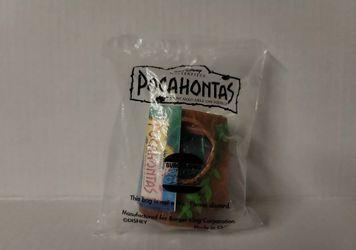 Lot Of 4 Disney Pocahontas Burger King 90s Toys Brand New! Thumbnail