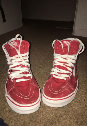 b26e8e7c8322c9 Red And White Vans for Sale in Pine Hills