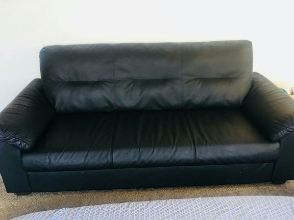 Ikea leather sofa for Sale in Renton, WA - OfferUp