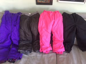 Snow pants size 6/7 kids. for Sale in Silver Spring, MD