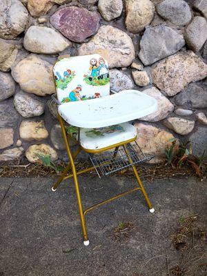 Vintage Folding High Chair for Sale in Salt Lake City, UT