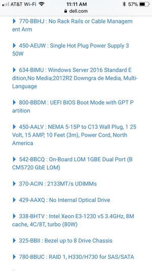 Dell Poweredge R330 server for Sale in Miami, FL - OfferUp