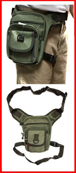 Photo NEW! Waist Pouch Hip Holster style Pouch drop leg bag Waist Bag Side Bag hiking camping motorcycle hunting biking Pouch Waist Pack