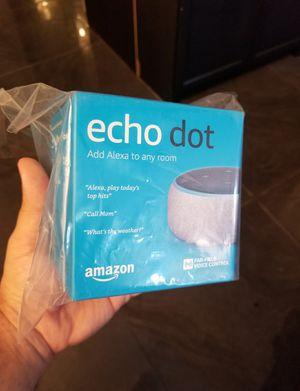 Brand New Sealed Latest (3rd gen) Amazon Echo Dot Smart Speaker for Sale in Los Angeles, CA
