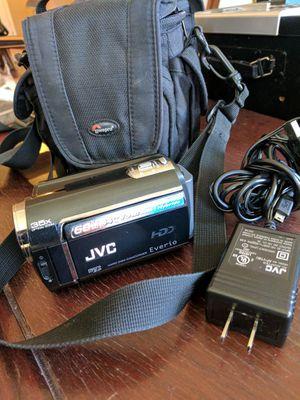 JVC HDD Camcorder w zoom lens for Sale in Bradenton, FL
