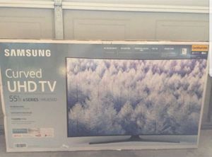 """Samsung UN55MU650D 55"""" Curve 4K UHD HDR LED Smart TV 2160p (FREE DELIVERY) for Sale in Tacoma, WA"""