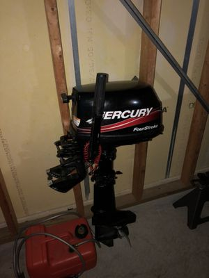 2000 Mercury 4HP outboard motor for Sale in Manassas, VA