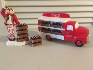 Dept. 56 Coca-Cola Pair: Delivery Man & Truck for Sale in Sun City, AZ