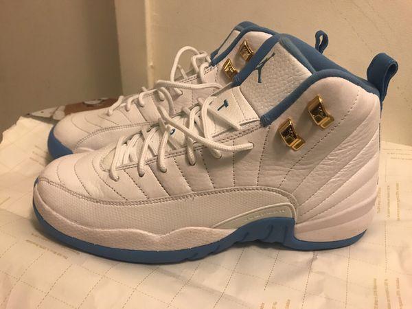 36ca4cabd5d530 Nike air jordan retro 12 melo pe white university blue for Sale in ...