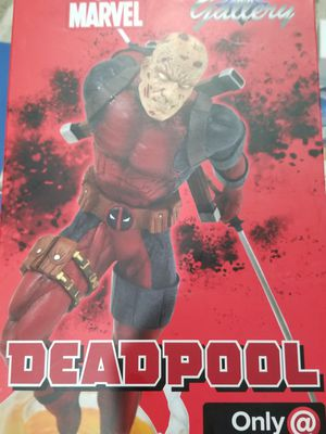 Marvel Gallery Deadpool without his mask diamond select toys very rare a very awesome collector's item that I'm giving tro you for a very good price for Sale in West Sacramento, CA