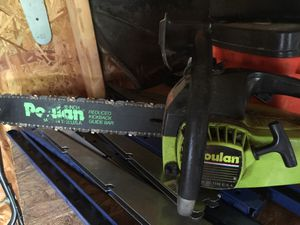 Chainsaw Poulan for Sale in Fort Washington, MD