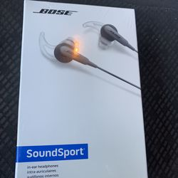 Bose Sound Sport Head Phones Brand New In Original Packaging  Thumbnail