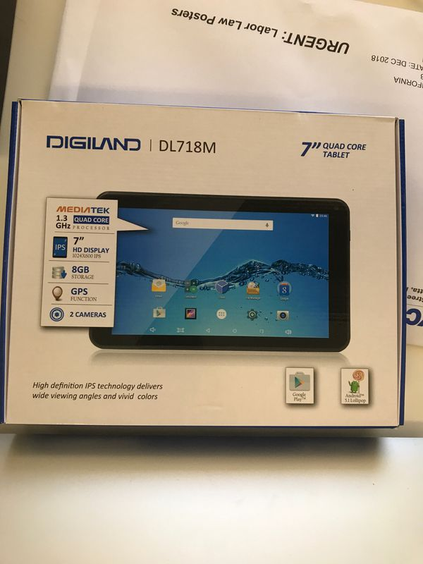 tablet Digiland DL718M for Sale in Miami, FL - OfferUp