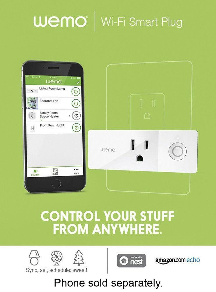 WeMo WiFi Smart Plug! Brand new!