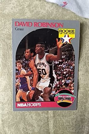 David Robinson Nba Hoops Rookie Card For Sale In Rancho Santa Margarita Ca Offerup