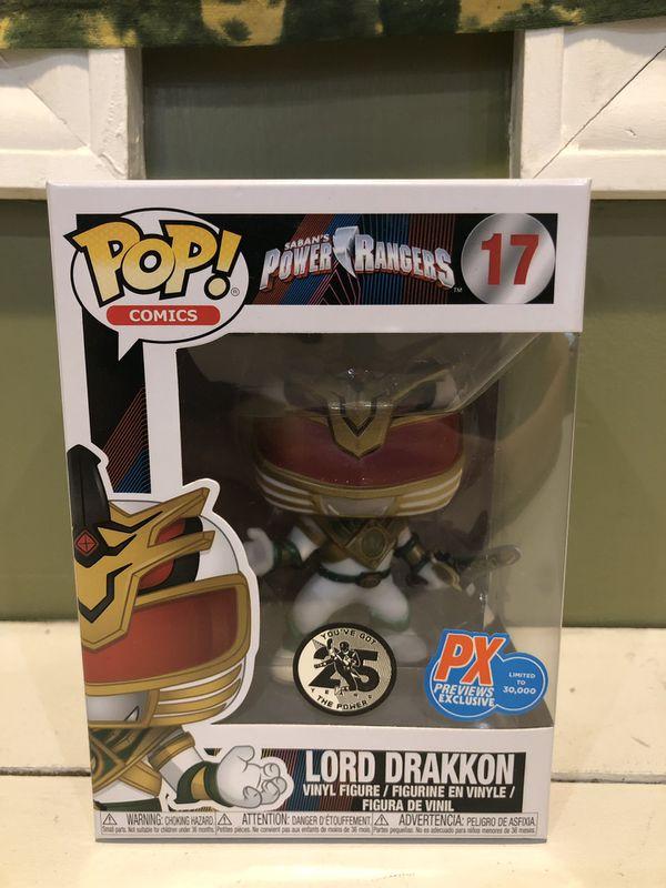 Power Ranger Lord Drakkon Funko Pop for Sale in Bethlehem ...
