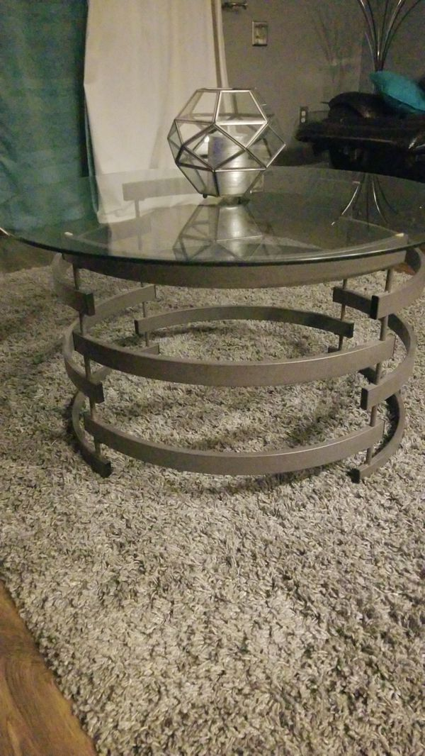 Ashley Furniture 3 Pc Coffee And 2 End Tables For Sale In Orlando Fl