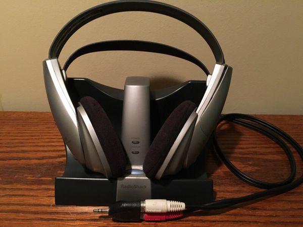 Radio Shack Wireless Headphone Stereo 900 MHz Cat No 33 1196 For