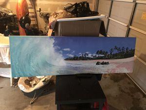 Hawaiian beach picture for Sale in Fort Belvoir, VA