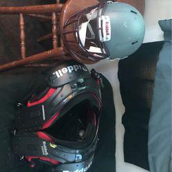Helmet And Shoulder Pads Thumbnail