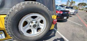 Photo Jeep Wrangler Spare Tire