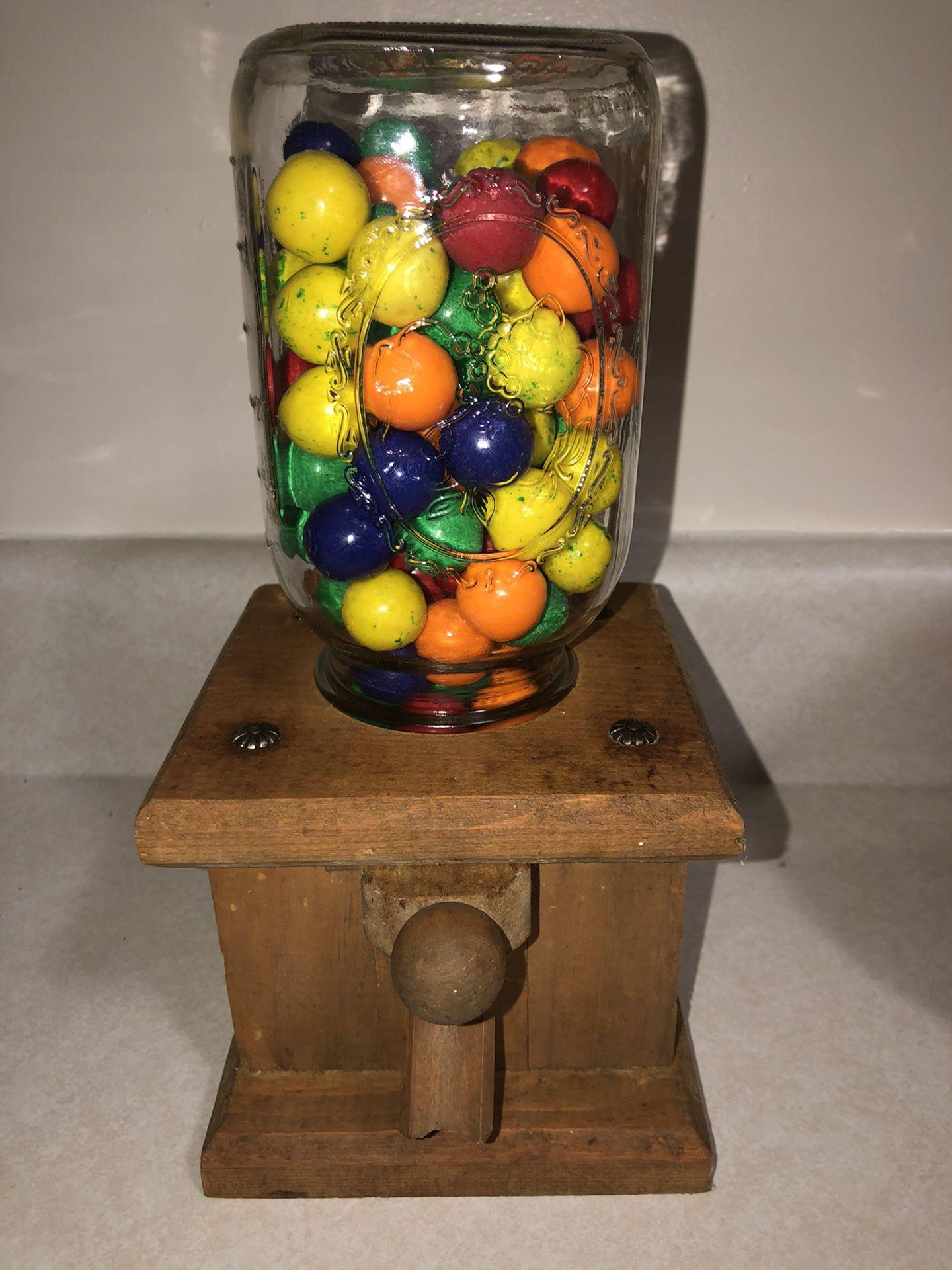 Handmade Wooden Candy Dispenser