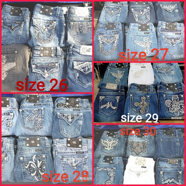 9a938c84677 Miss me jeans sizes 24- 32 at a great deal. for Sale in Dalton