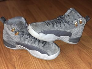 Air Jordan 12 Retro shoe Boys style, size 6 for Sale in Mechanicsville, VA