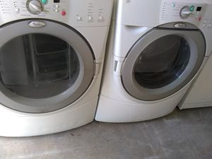 Whirlpool Duet front load washer and dryer set for Sale in Orlando, FL