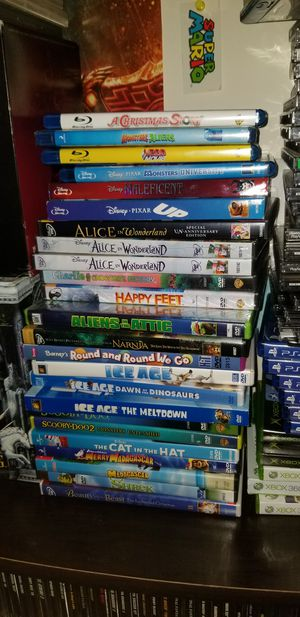 Disney and other kids movies for Sale in Alexandria, VA