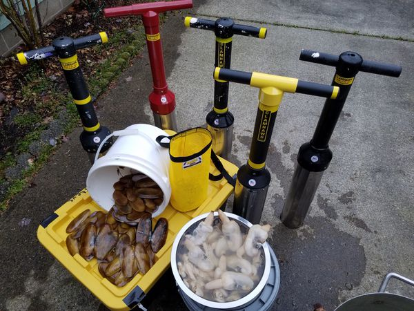 Clamhawk and Clamhawg Clam Guns for Sale in Lacey, WA ...