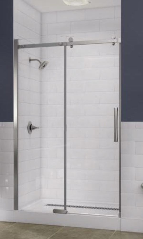 Delta Frameless Shower Doors And Base For Sale In Portage In Offerup