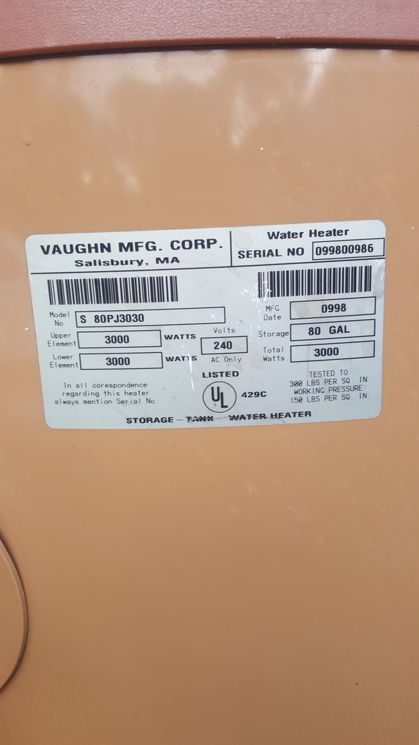 New and Used Water heaters for Sale in Fayetteville, NC - OfferUp