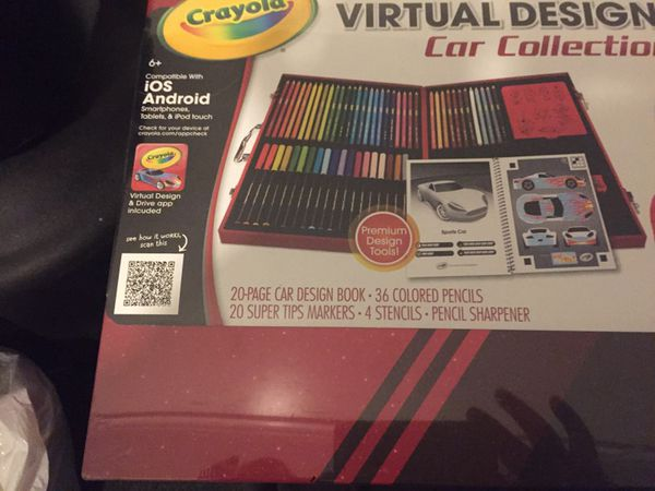 crayola virtual design pro car collection for sale in bridgeport ct