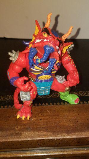 TMNT Hot Head Vtg Teenage Mutant Ninja Turtles Action Figure Toy 1992 for Sale in Leander, TX