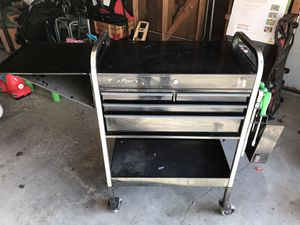Photo Snap on/ blue point tool cart
