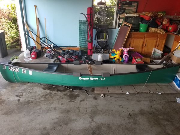 Rogue River Canoe for Sale in Machesney Park, IL - OfferUp