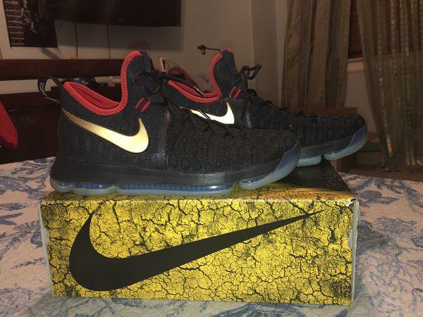 """wholesale dealer 33f7d 7f2b2 Nike Kevin Durant KD 9 """"Gold Medal"""" size 11"""