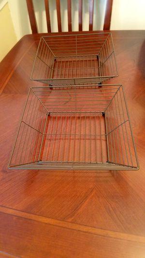 Metal baskets for Sale in Manassas, VA