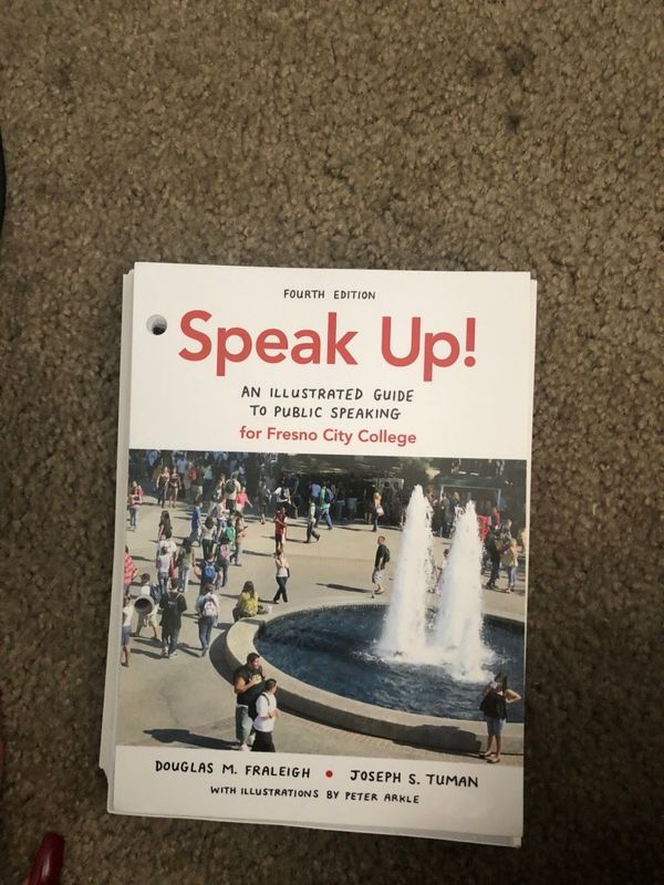 Speak Up 4th Edition Fresno City College For Sale In Fresno Ca