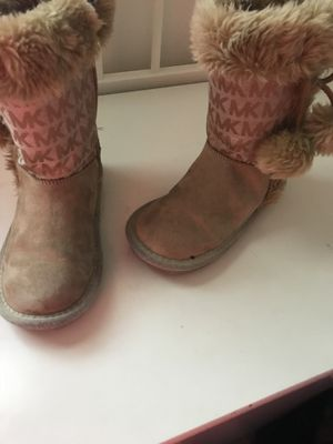 Micheal kors little girls boots size 11 for Sale in Washington, DC