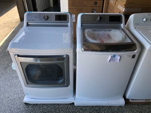 Photo EARLY BLACK FRIDAY! LG Washer Electric Dryer Set XL Capacity Without Agitator #780