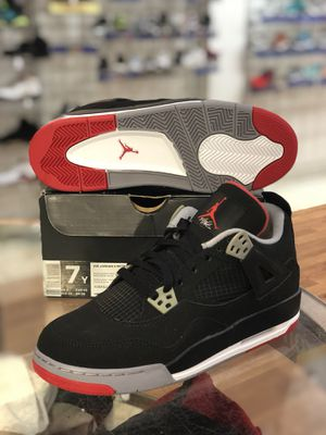 Brand new Bred 4s size 7 for Sale in Silver Spring, MD